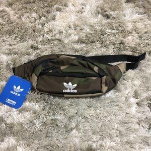 Brand New Adidas double zipper pouch